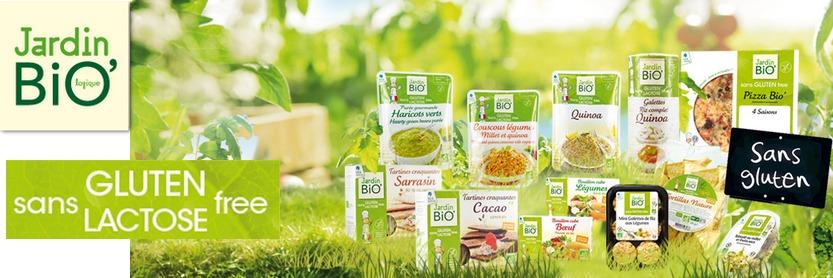 Jardin bio d veloppe une gamme sans lactose ni gluten for Jardin bio 2015