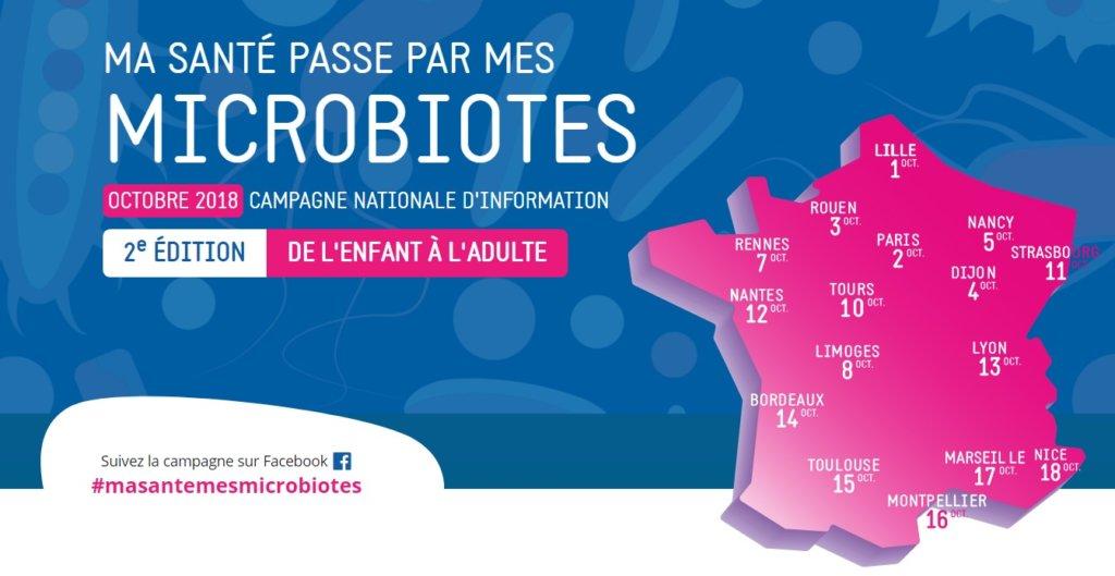 microbiotes tournée pileje
