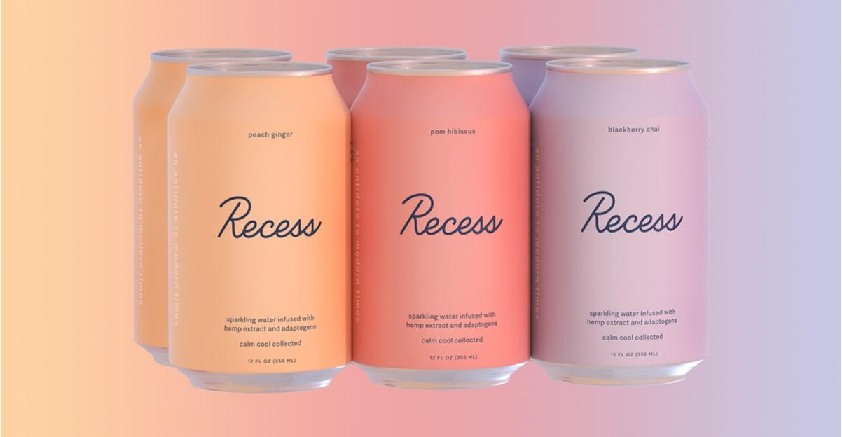 Coup de cœur produit : Recess, nouvelle boisson anti-stress