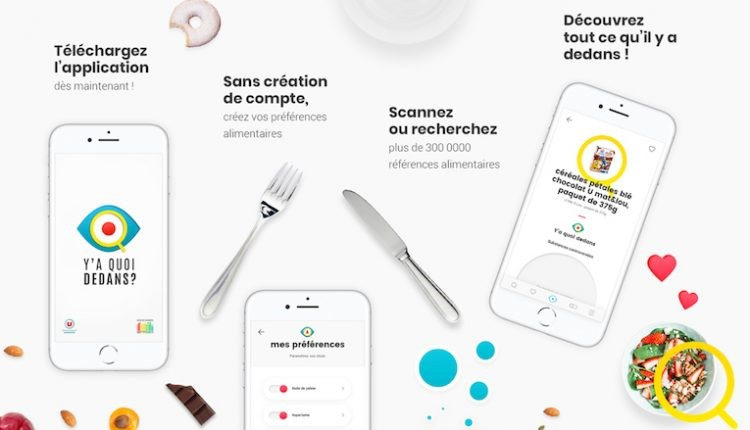 application de décryptage alimentaire
