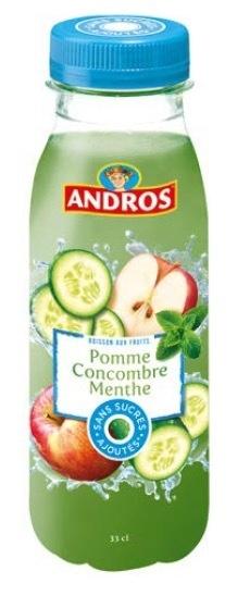Boisson sans sucres ajoutés Andros