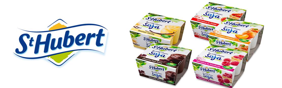 saint hubert annonce la sortie de ses desserts au lait de soja. Black Bedroom Furniture Sets. Home Design Ideas