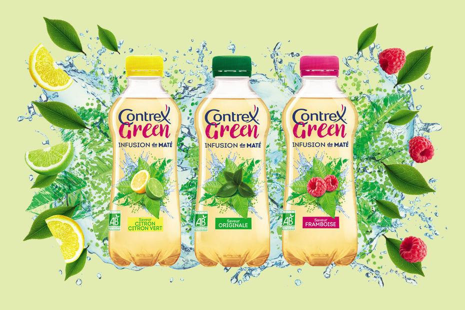 Eau aromatisée Contrex Green