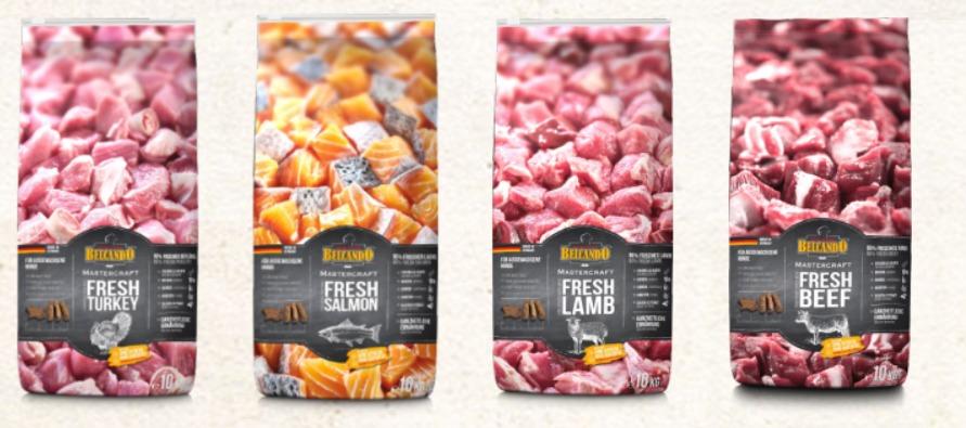 packaging petfood Belcando