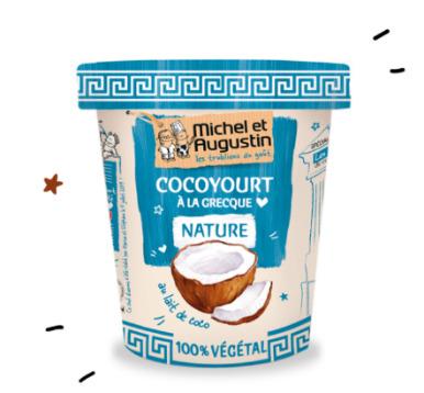 cocoyourt végétal Michel et Augustin
