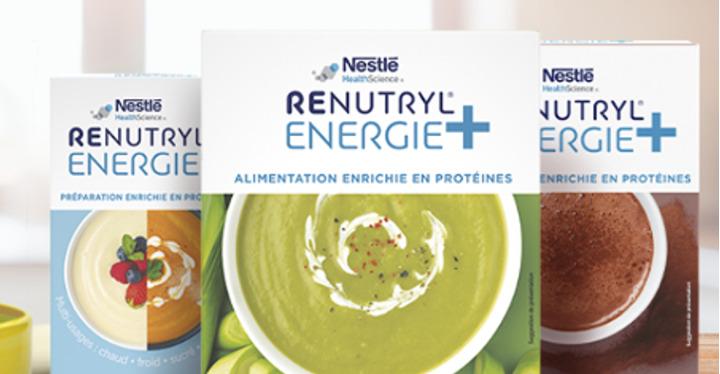 Renutryl energy + de Nestlé
