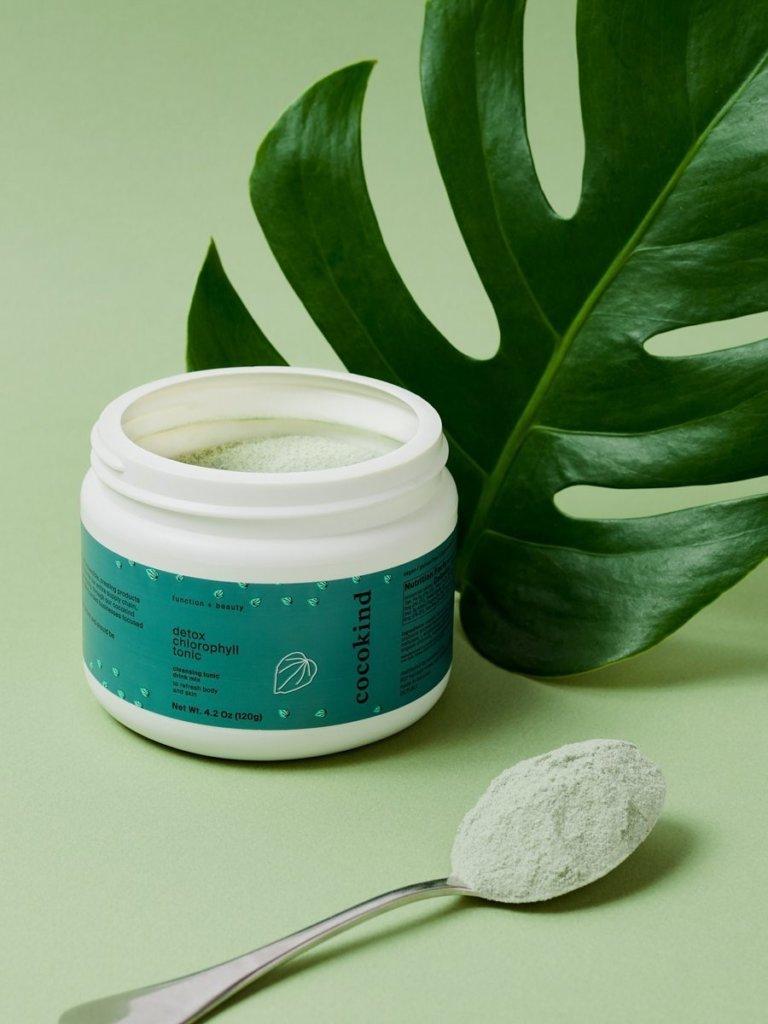 cocokind Detox chlorophyll tonic