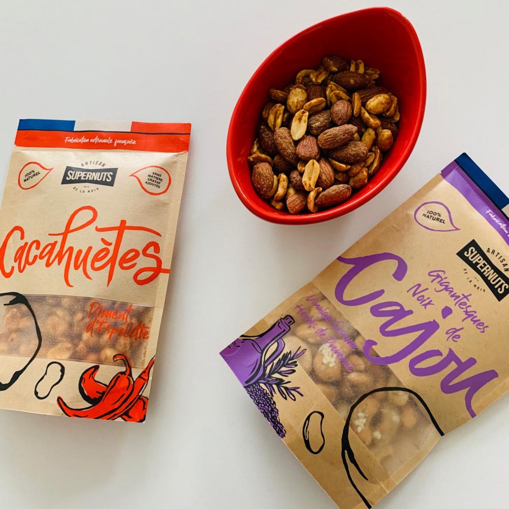 Supernuts cajou et cacahuètes