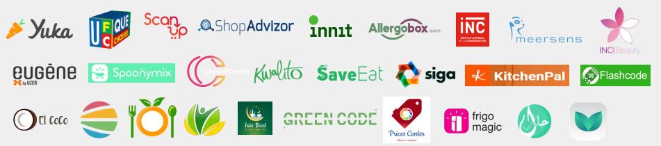 Les applications partenaires du programme AlkemicsTransparence Conso.