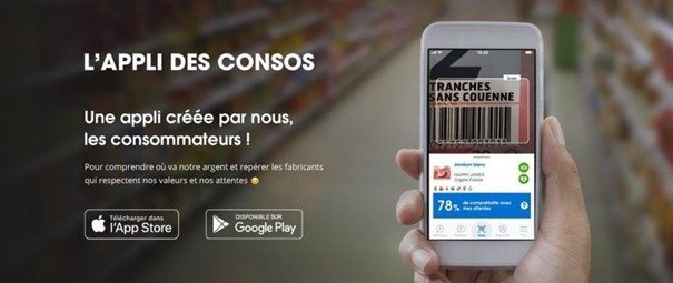 application alimentaire scan