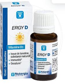 compléments alimentaires Vitamine D ERGY D